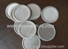 stainless steel wrie mesh discs