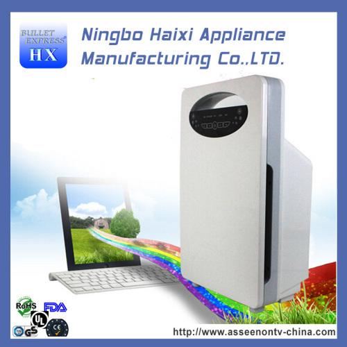 Durable mini pleated air purifier filter