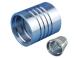 carbon steel interlock hydraulic hose ferrule fitting