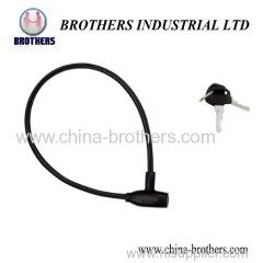 Bowling Head Bicycle Wire Lock