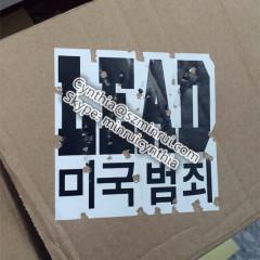 destructible vinyl security label