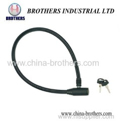 Small Round Head Bicycle Wire Lock