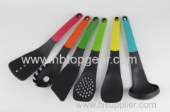 New food grade nylon elevate kitchen spoon turner spatula set