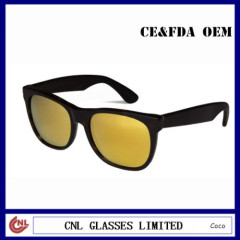 Mens Yellow Lens Sunglasses