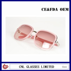 Womens fashion pink sunglasses