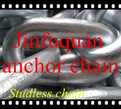 Q235 Zinc Plated DIN763 Studless Chain