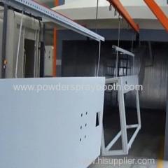 cabinet powder coating line