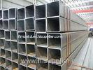 W.T 1.0mm - 17.75mm Square Structural Steel Hollow Sections Pipe / SS41 SS400 HS Tubing