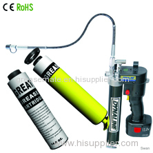 24V cordless grease gun with 2 Ni-Cd/Lithium battery