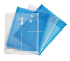 clear A4 PP Rope file cover