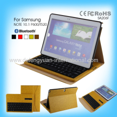 Professional CE ROHS bluetooth keyboard portable with high quanlity for Samsung NOTE 10.1 P600/T520