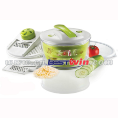 4 in 1 salad spinner /salad chopper/vegetable slicer