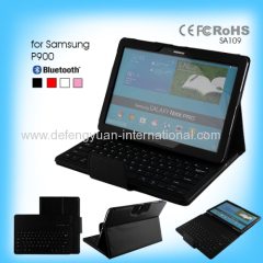 Good price with retail packing bluetooth mobile keyboard for Samsung P900