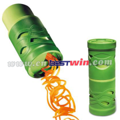 magic fashion cylinder shaped veggie twister cutter slicer
