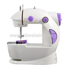 Mini Sewing Machine With Foot Pedal/Portable Sewing Machine 4 in 1 children sewing machine