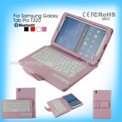 Wireless PU Leather New products professional bluetooth keyboard for Samsung Galaxy Tab Pro T320