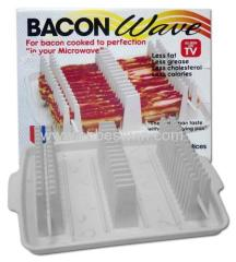 Microwave Bacon Tray/Bacon Wave 2014 new product
