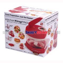 Manual kitchen king food processor