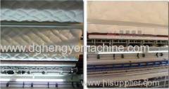 Chain stitch quilting machine for mattress
