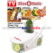 Plastic vegetable chopper slice o matic