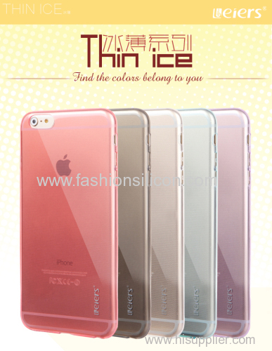 transparent and thickness Iphone6 cover