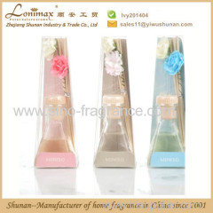 Home fragrance reed diffuser/ 40ml reed diffuser with artificial flower