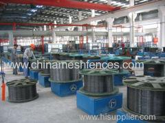 Línea de producción de alambre galvanizado electro