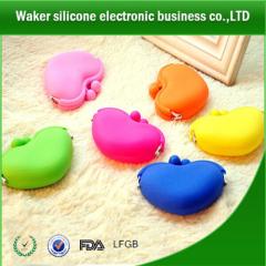 Wholesale Cheap silicone purse wallet/ silicone purse/ silicone coin purse/ silicone pouch