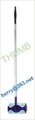 Aluminum handle flat mop