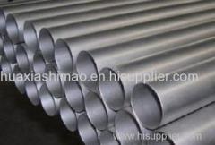 Seamless titanium pipe for heat exchanger