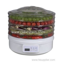 Electric food dehydrator for home use