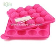 Super non stick silicone bakeware/cake pops set