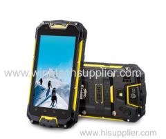 IP68 Rug-ged Smartphone with PTT Walkie Talkie 4.5 Inch Android 4.4 MTK6589 Quad Core phone