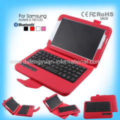 Popular Wholesale Slide Bluetooth Keyboard Case for Samsung note8.0 N5100