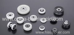 Pulley bearing roller plastic