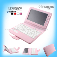 mini bluetooth plastic ABS keyboard for Samsung Tab2 P3100 6200