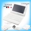 Full Color Wireless Flexible Bluetooth Keyboard for Samsung Tab2 P3100 6200