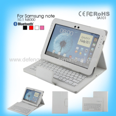 Excellent quality special smartphone bluetooth keyboard for Samsung note10.1 N8000