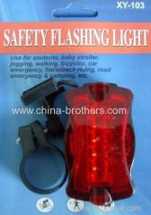 Small Rectangular LED Bicycle Tail Light