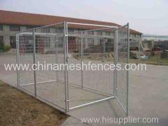 Galvanized Steel Dog Wire Panel Kennel