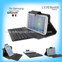 Mini Portable Folding Bluetooth Keyboard with USB Port for Samsung Tab3 P3200