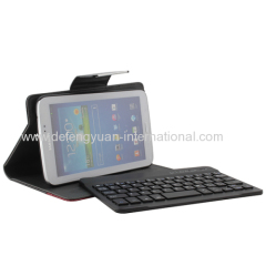 Easy pair Bluetooth keyboard with USB Port for Samsung Tab3 P3200