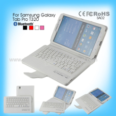 High quality wireless PU Leather cover slide Bluetooth Keyboard Case for Samsung Galaxy Tab Pro T320