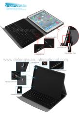 Ipad Air keyboard dock/mini bluetooth plastic keyboard/folding bluetooth keyboard