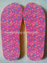 Manufacture price for slippers films through heat transfer printing