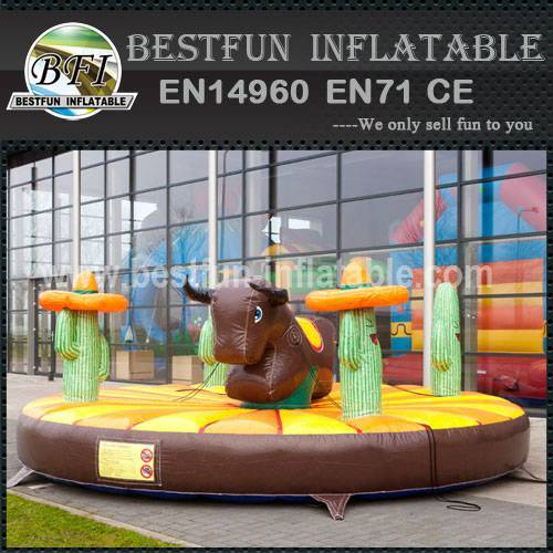 Rodeo Bull Western Inflatable