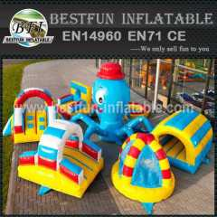 Island Octopus Inflatable Obstacle