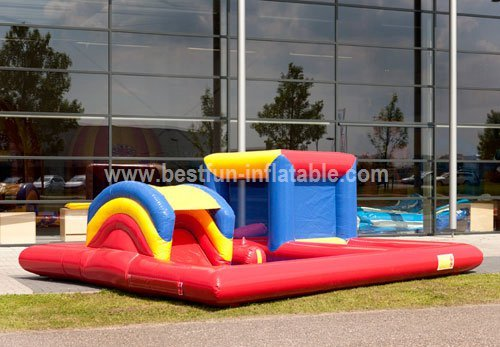 Inflatable Bouncing House Fun City