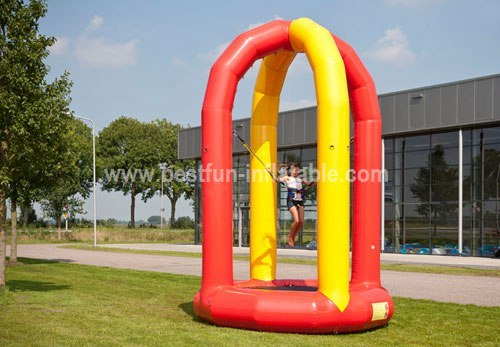 Inflatable bungee trampoline for sale
