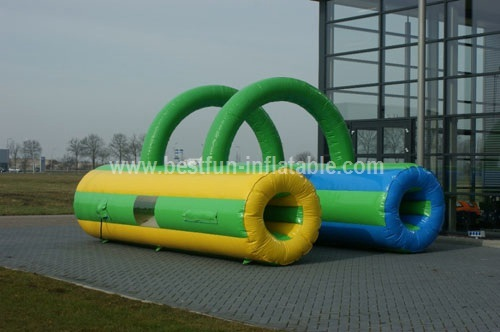 Inflatable crawl tunnel obstacle course